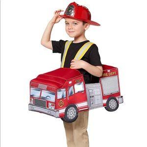 Toddler costume firetruck